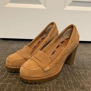 SPERRY suede heels